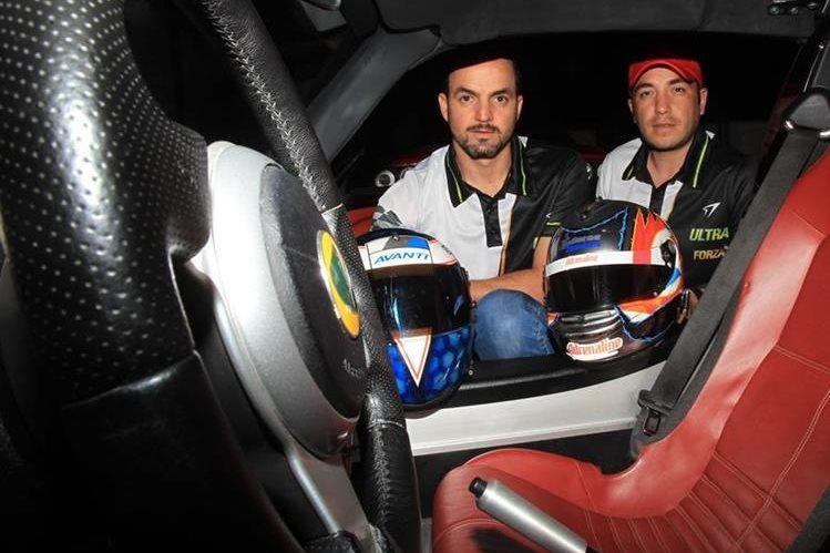 Juan P. Rodas y Freddy Bressani están listos para defender el liderato este domingo. (Foto Prensa Libre: Carlos Vicente)