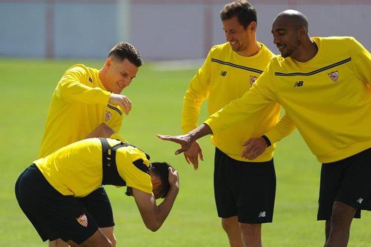 El Sevilla tiene ventaja sobre su rival Athletic. (Foto Prensa Libre: EFE)