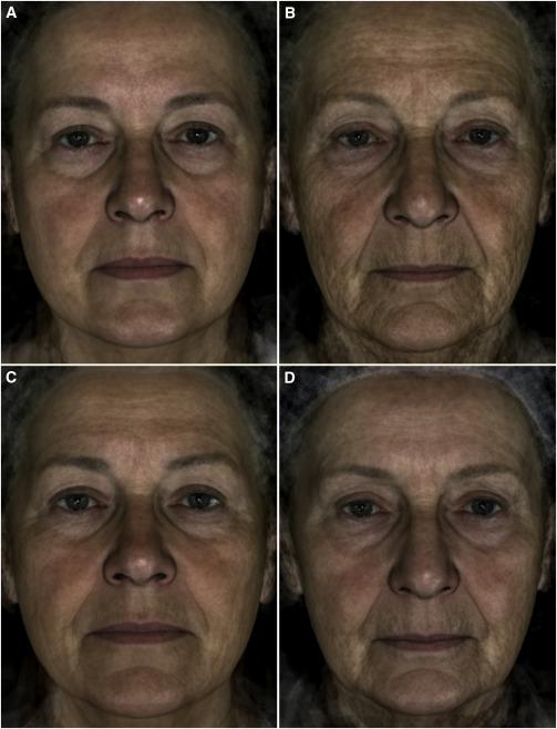 Imagen muestra las diferencias de edad de participantes en el estudio. (Foto Prensa Libre, tomado de Current Biology).