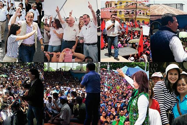 Los partidos políticos continúan en campaña y presentando a los electores a sus candidatos presidenciales y a diputados.