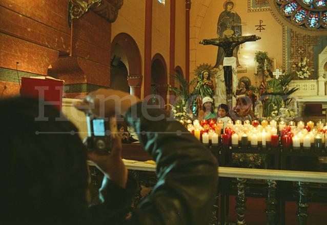 En Los Ángeles, California, Estados Unidos se venera al Cristo Negro de Esquipulas. (Foto: Hemeroteca PL)