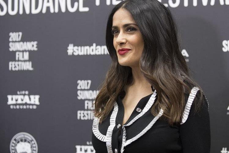 Salma Hayek se encuentra en el Festival de cine Sundance. (Foto Prensa Libre: AP)