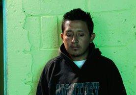 Jose Eduardo Guerrero, de 29 años, es uno sospechoso por la muerte del agente de PMT, Simón Velásquez Pérez. (Foto Prensa Libre: Estuardo Paredes)