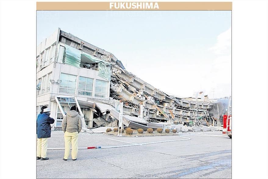 Vista parcial de las casas destruidas en Iwaki, Japón, tras el tsunami generado por el terremoto en ese país asiático 12/03/2011. (Foto: Hemeroteca PL)