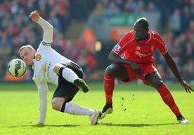 El Manchester United derrotó al Liverpool como visitante el fin de semana en la Liga Premier Inglesa.