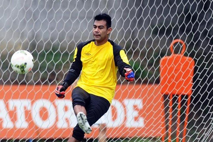 Paulo César Motta Portero de la Selección de Guatemala. (Foto Prensa Libre: Hemeroteca PL)