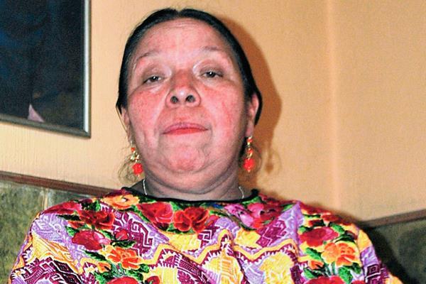 Norma Quixtán,  lideresa indígena, asegura que existe discriminación y exclusión hacia las mujeres en  partidos. (Foto Prensa Libre: Alejandra Martínez)
