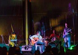El conjunto Kadmon, durante su presentación en December Jazz (Foto Prensa Libre: J. Ochoa).