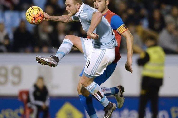 Con el triunfo el Celta se mantiene en la quinta posición con 34 puntos. (Foto Prensa Libre: AFP).