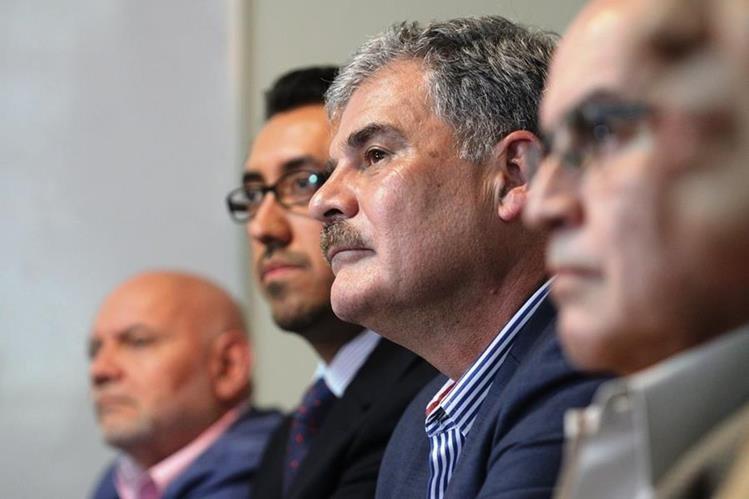 Directivos del Instituto Centroamericano de Estudios Fiscales.