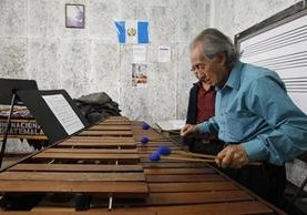 La Marimba, instrumento patrio, ha sido uno de los más utilizados para inmortalizar hermosas melodías. (Foto HemerotecaPL)