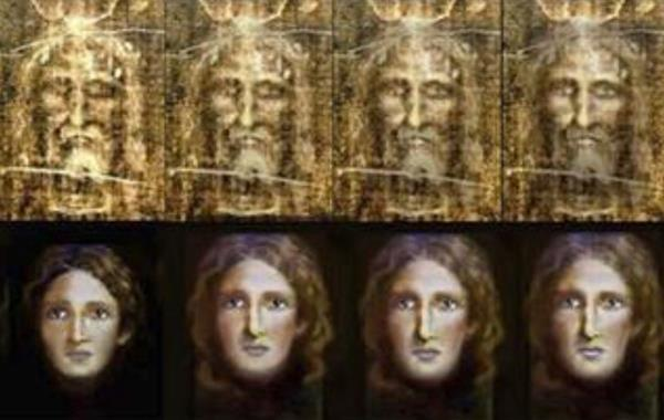 Una reconstrucción del rostro de Jesús de Nazaret a partir de la Sábana Santa que ha realizado por expertos.(Foto Prensa Libre:EFE)