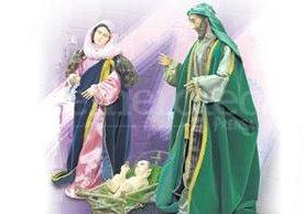 Misterio de la Natividad tallado en madera por Julio Dubois, nieto. (Foto: Hemeroteca PL)