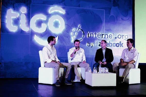 Aspecto de la presentación de internet.org (PL-Tigo)