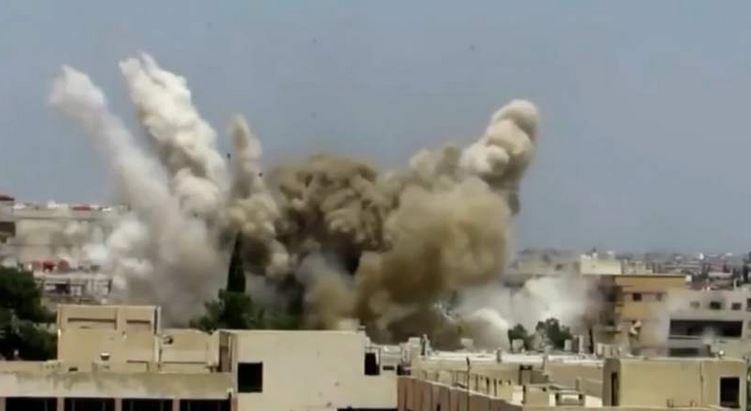 Las ciudades sirias donde tiene dominancia el gobierno sufren constantes agresiones de parte de los rebeldes. (Foto: @20m).