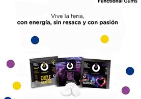 Resurrexion es la goma de mascar creada en España que ayuda a alivar los síntomas de la resaca. (Foto Prensa Libre, tomada de Facebook)