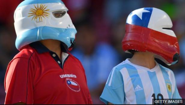 Tanto Argentina como Chile están en riesgo de no clasificar a Rusia 2018. (Foto Prensa Libre: BBC Mundo)