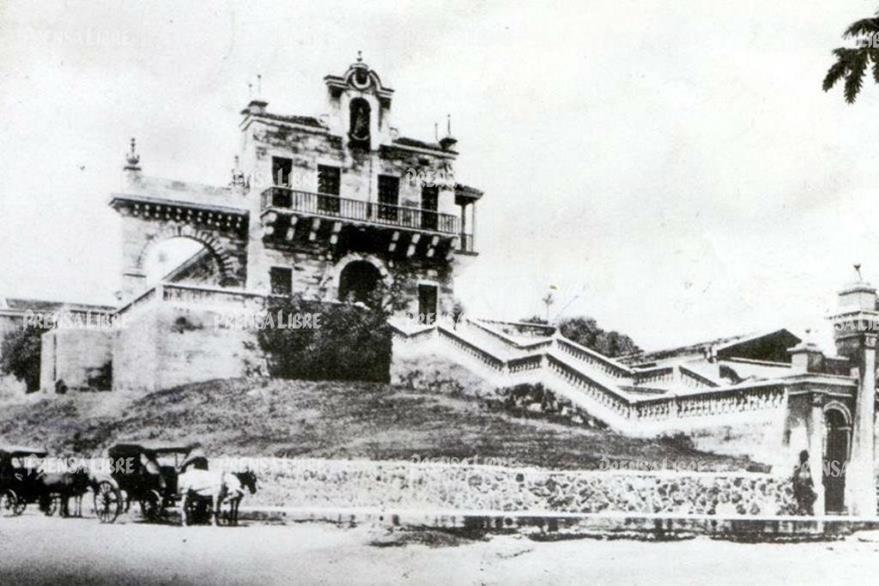 Antiguo templo de El Calvario, donde funcionó el Museo de Historia y Bellas Artes. (Foto Prensa Libre: Museo Nacional de Historia)
