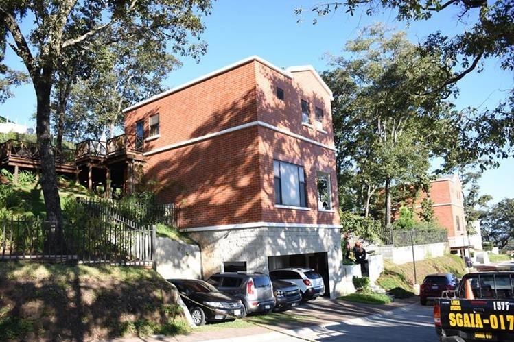 La casa que alquilaba Pavel Centeno se ubica en la zona 4 de Mixco. (Foto Prensa Libre: HemerotecaPL)