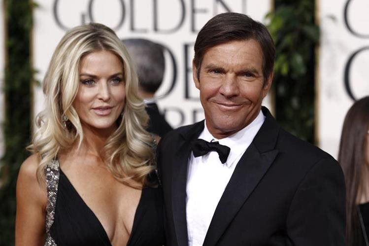 Dennis Quaid y su esposa , Kimberly, están en proceso de divorcio. (FOto Prensa Libre: AP)