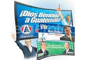 Ha sido recurrente en las campañas proselitistas el discurso religioso. (Foto Prensa Libre: Hemeroteca)