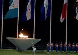 El domingo se encendió el fuego de los Juegos Centroamericanos.