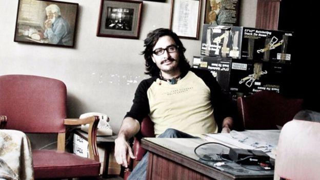 """""""Lo que importa es que la película se vea"""", dice el director Fernando Llanos. FERNANDO LLANOS"""