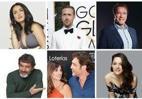 Ellos son extranjeros y con su actuación ellos se han ganado un lugar en la meca del cine. (Foto Prensa Libre: Hemeroteca PL)