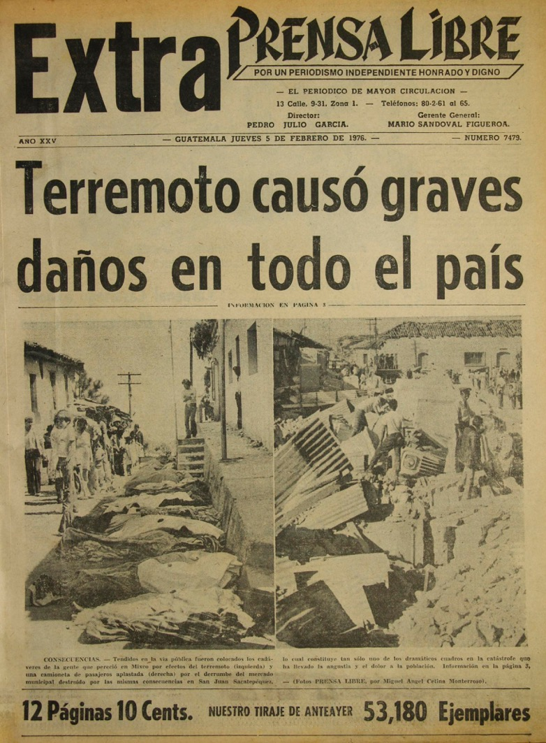 Guatemala está asentada sobre fallas geológicas. (Foto: Hemeroteca PL)