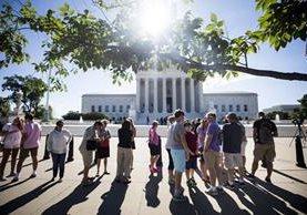 Corte Suprema en Washington, Estados Unidos. (Foto Prensa Libre: EFE)