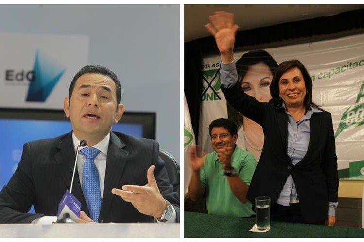 Mirador Electoral evaluó ambas propuestas de gobierno. (Foto Prensa Libre: Hemeroteca PL)
