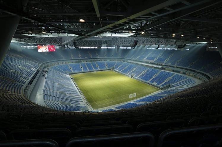 El recinto deporivo acogerá una de las semifinales de la Copa del Mundo Rusia 2018. (Foto Prensa Libre: AFP).