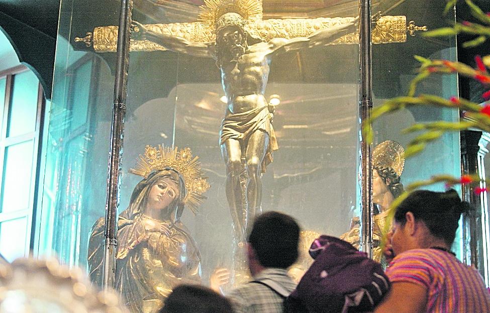 La imagen del Señor de Esquipulas tiene miles de fieles que lo visitan cada 15 de enero. (Foto Prensa Libre: Hemeroteca PL)