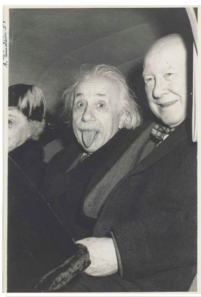 La foto fue tomada en 1951, después de las celebraciones de su cumpleaños número 72. ARTHUR SASSE/NATE D SANDERS AUCTIONS