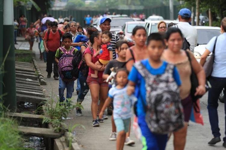 Varias comunidades recibieron a tiempo la alerta y se movilizaron a Escuintla.