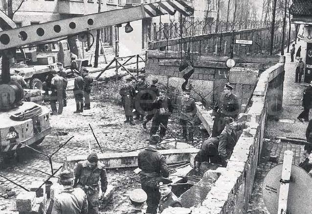 El 13 de agosto de 1961 comenzó la construcción del muro. (Foto: Hemeroteca PL)