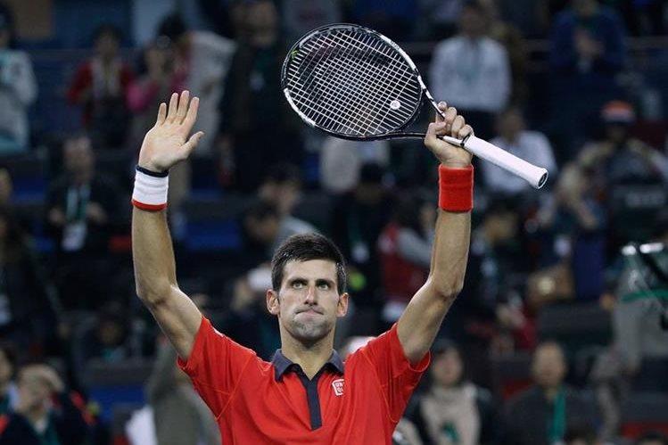 El serbio buscará brillar en una nueva final, ahora en Shangái. (Foto Prensa Libre: AP)