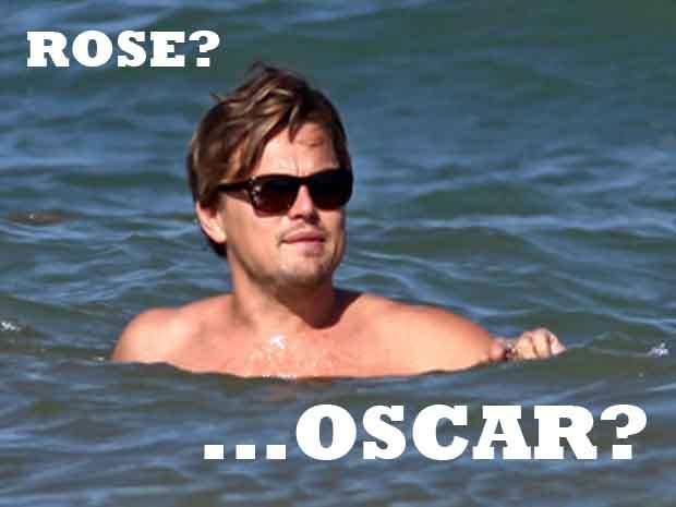 Las personas utilizan a sus personajes pasados, como el de Titanic, para burlarse de Leo.