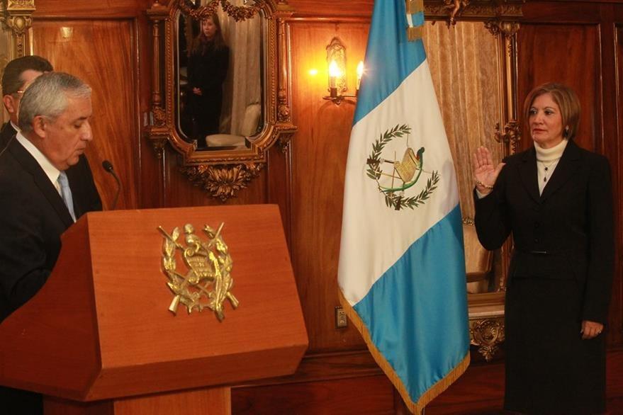 La última titular de la PGN fue María Eugenia Villagrán, designada al cargo por el hoy ex presidente Otto Pérez Molina en 2014. Villagrán renunció el día 17 de mayo de 2016 por amenazas. (Foto: Hemeroteca PL)
