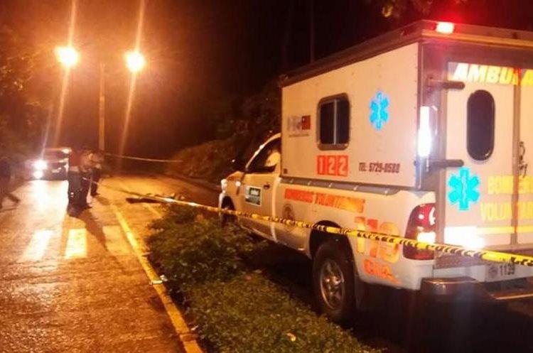 En la zona 2 de Colomba fue asesinado la noche del martes último un joven de 18 años. (Foto Prensa Libre: Cortesía)