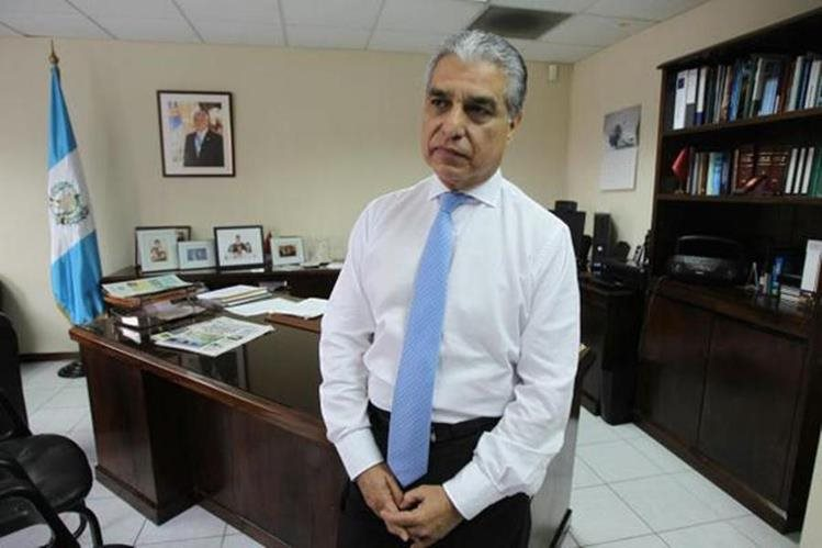 Carlos Contreras, presidente de la Junta Directiva del IGSS.