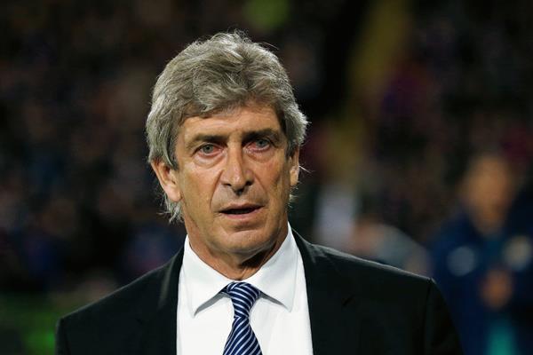 Manuel Pellegrini  se encuentra tranquilo a pesar de los malos resultados del Manchester City. (Foto Prensa Libre: AP)