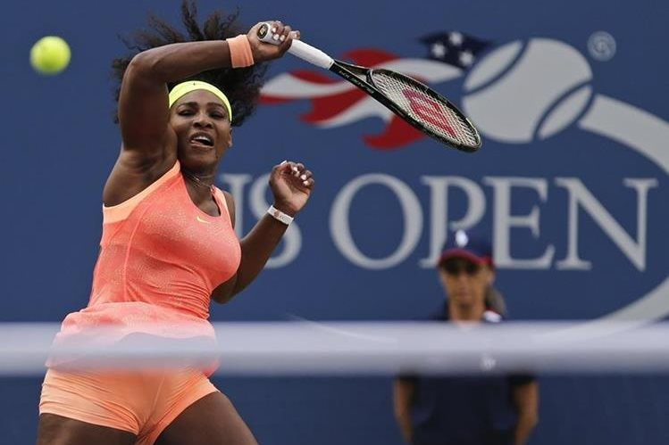 Serena Williams se enfrentará a su hermana Venus Williams. (Foto Prensa Libre: AFP)