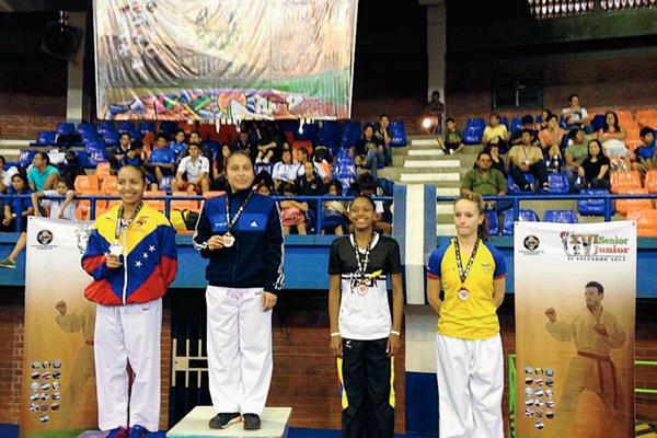 Cheili González destacó en El Salvador y dominó su categoría. (Foto Prensa Libre: Cheili González).