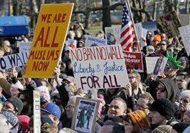 Las restricciones impuestas por Donald Trump, ha generado protestas y manifestaciones.