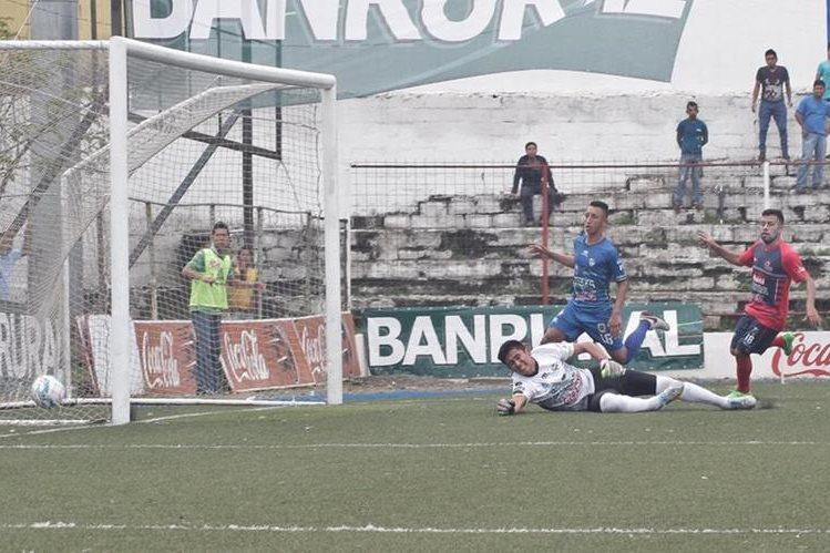 Cobán Imperial cayó por goleada 9-0 en la última jornada de la fase de clasificación de visita contra Malacateco. (Foto Prensa Libre: Hemeroteca)
