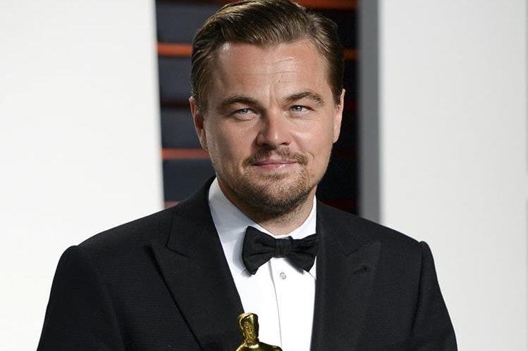 Leonardo DiCaprio, ganador del Óscar y ¿futuro joker? (Foto Prensa Libre: AP)