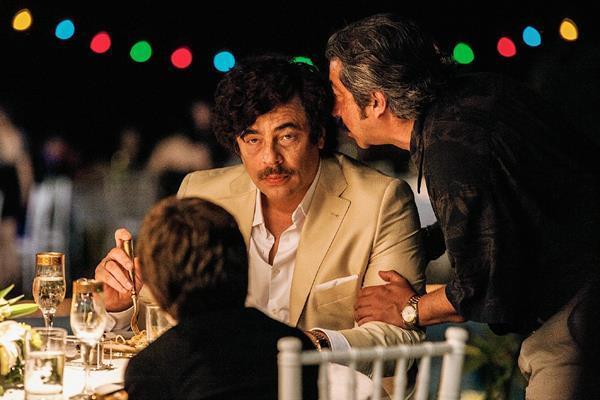 Benicio del Toro protagoniza la cinta Sicario que participa en la sección oficial de Cannes