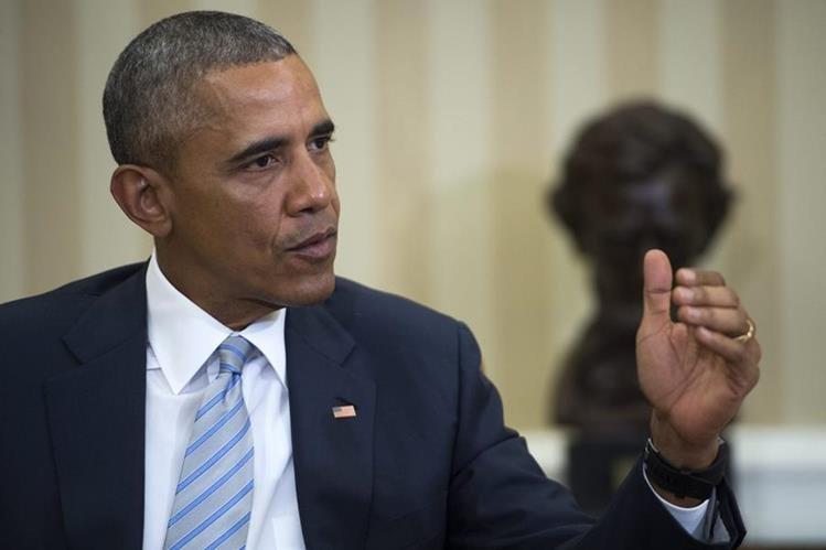 Barack Obama, presidente de EE. UU. (Foto Prensa Libre: EFE).
