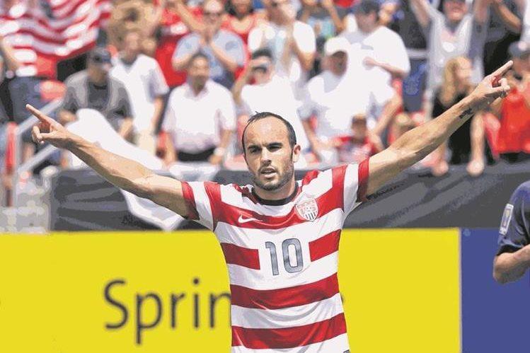Landon Donovan, quien pasó cuatro temporadas con el San José (de 2001 a 2004) y luego jugó para Los Ángeles Galaxy entre 2005 y 2014, es pretendido por el Real Salt Lake (Foto Prensa Libre: Hemeroteca PL)